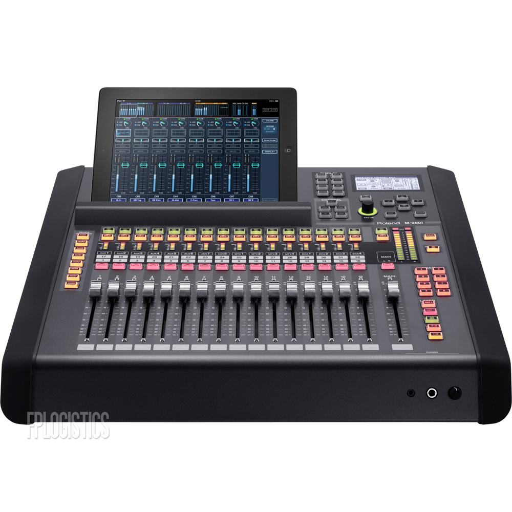 roland m 200i live digital mixing console m200i 32 channel audio mixer m 200 i ebay. Black Bedroom Furniture Sets. Home Design Ideas
