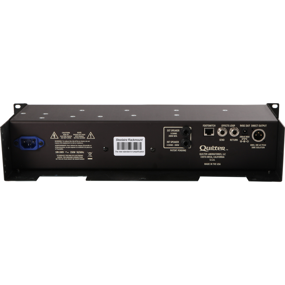 quilter steelaire pro rackmount guitar amplifier head sa200 rackmount ebay. Black Bedroom Furniture Sets. Home Design Ideas