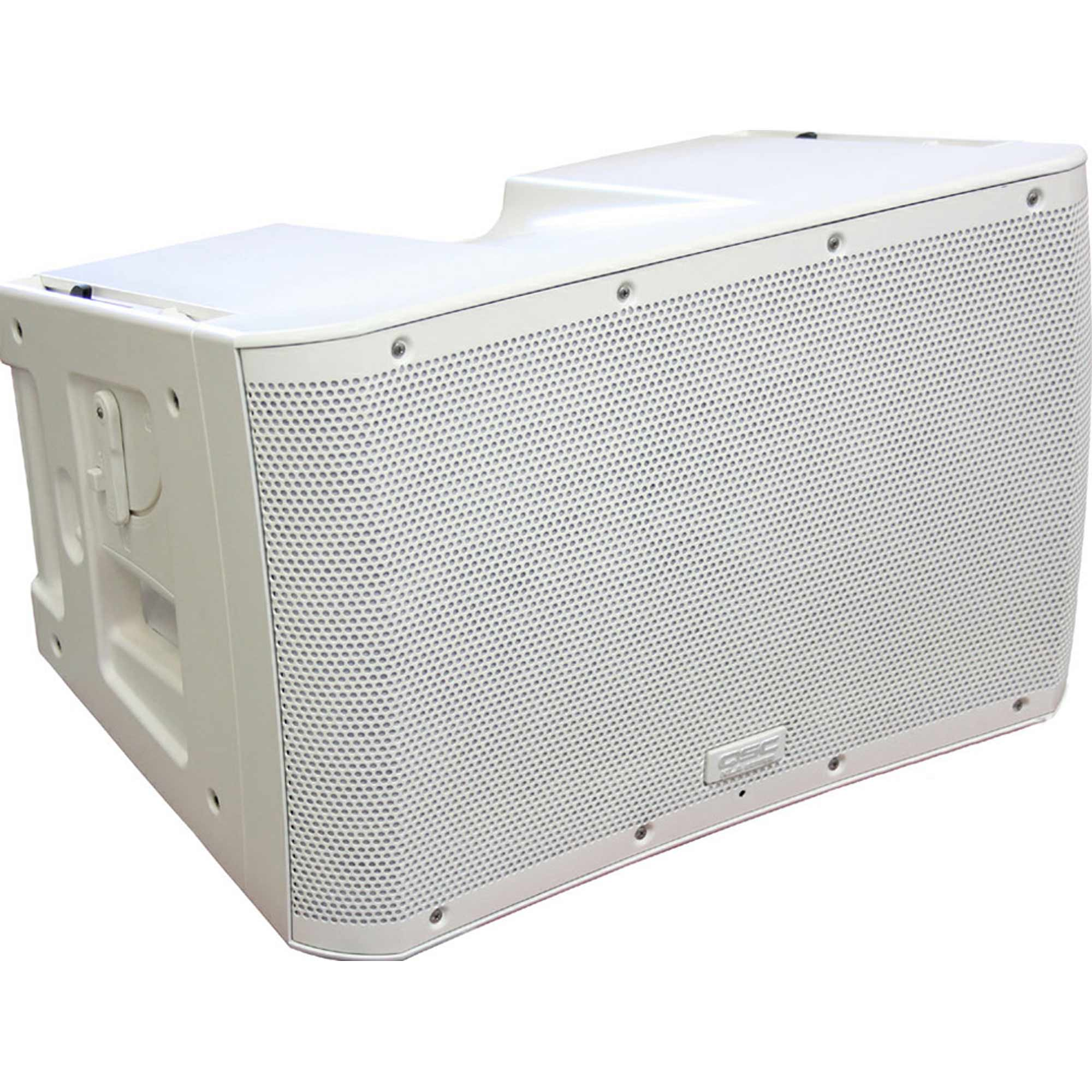qsc kla12 wh white finish active powered 12 line array speaker kla 12 ebay. Black Bedroom Furniture Sets. Home Design Ideas